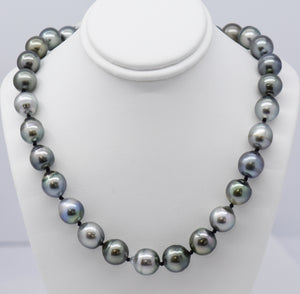 Large Tahitian Pearl Necklace