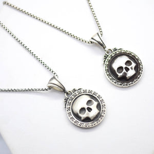 Reaper Silver Necklace