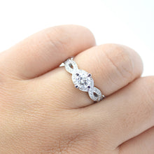 half carat diamond engagement ring
