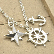 Nautical Sterling Silver Necklace