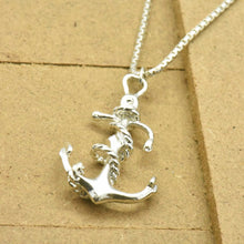 Anchor Sterling Silver Necklace