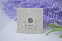 cubic zirconia silver earrings sutton smithworks