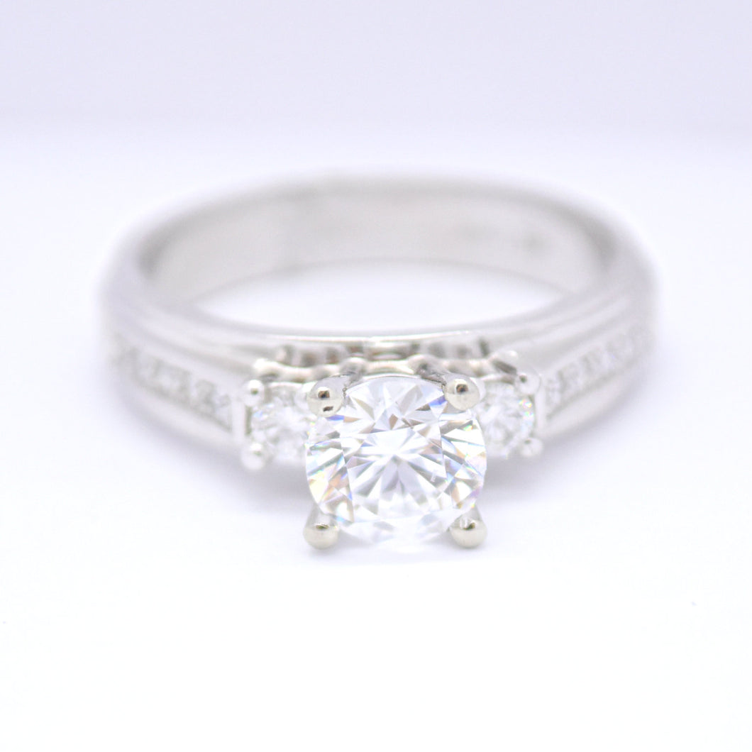 mount only diamond engagement ring - sutton smithworks