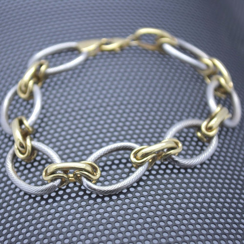 white and yellow gold bracelet sutton smithworks