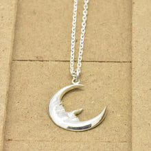 moon necklace charm sutton smithworks
