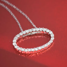 diamond oval necklace - sutton smithworks