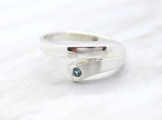 Birthstone Wrap Ring
