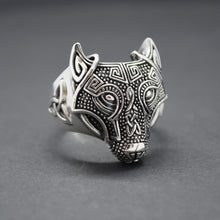 celtic wolf silver ring sutton smithworks