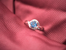London Blue Topaz Silver Ring