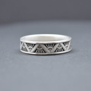 Mini Art Deco Ring