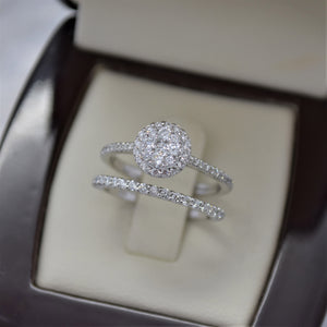 0.25TW Diamond Shared Prong Wedding Band