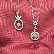 Floating Diamond Necklace