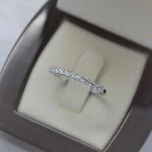 0.33 TW Diamond Ring in 14K White Gold