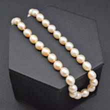 Peach Freshwater Pearl Strand Necklace