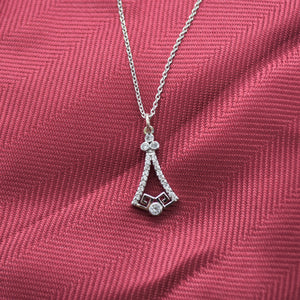 Silver Bell Necklace