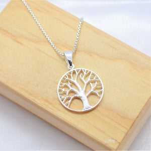 Tree of Life Circle Necklace
