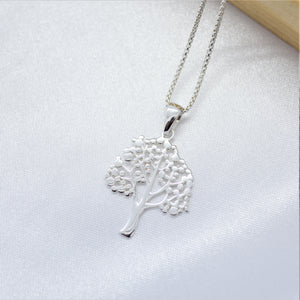 tree silver necklace sutton smithworks