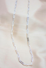 4 mm statement paperclip necklace