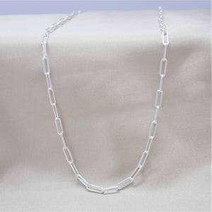 3mm paperclip chain