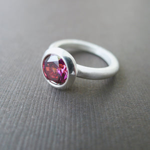 Sunray Pink Lollipop Ring