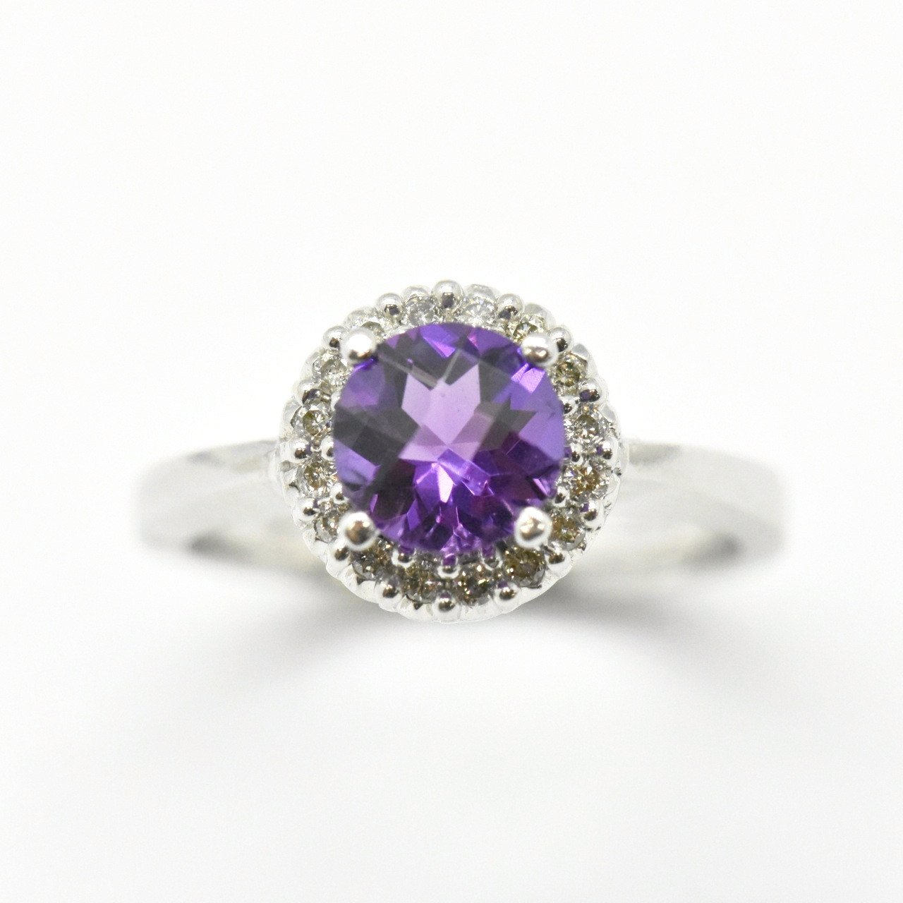 Amethyst White Gold Ring Sutton Smithworks: Cat Maid Wedding Ring At Websimilar.org