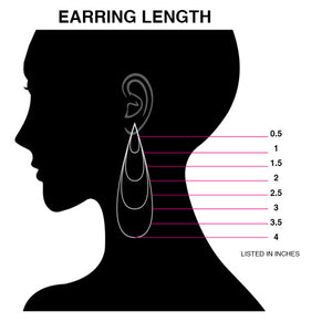 Free Form Statement Earrings