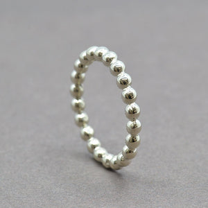silver stacking ring - sutton smithworks