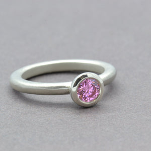 Pink Ice Lollipop Ring