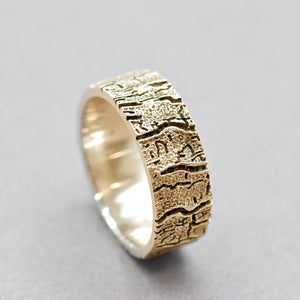 bark tree ring for mens
