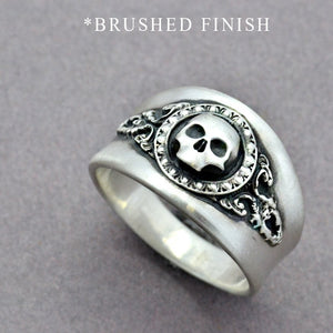 small grim reaper ring