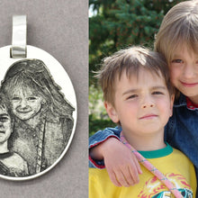 Keepsake Custom Photo Necklace