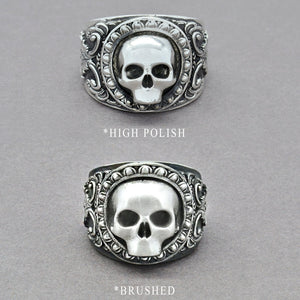 the grim reaper mens ring