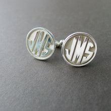 Custom Initial Cuff Links