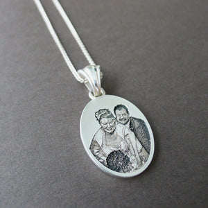 custom photo necklace in winnipeg
