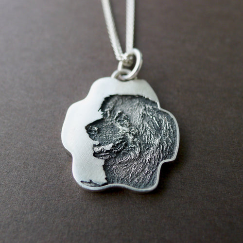 Custom Paw Print Necklace