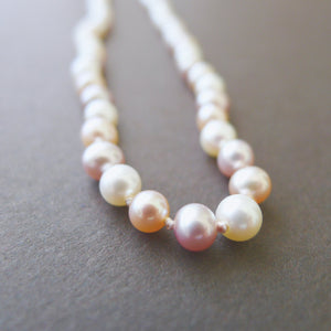 Lavender Freshwater Pearl Necklace