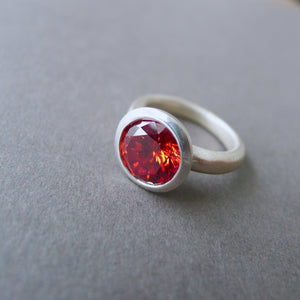 Red Lollipop Ring