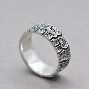 Bark Texture Ring