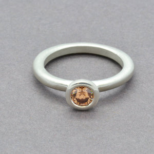 Champagne Lollipop Ring