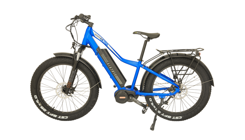 Biktrix Juggernaut Ultra 1000 All Terrain Electric Bike - Charged Cobalt