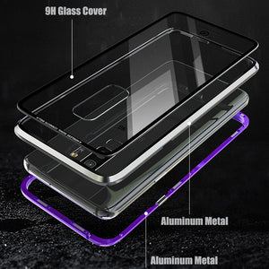 Colorblock Magnetic Case for Galaxy S9 or S9 Plus