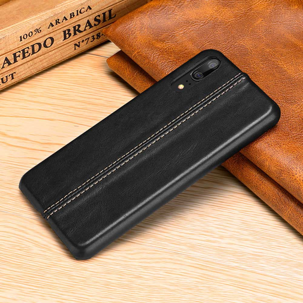 Genuine Stitched Designer Leather Case for Huawei P & Mate Series