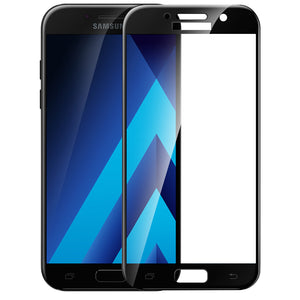 3D Curved Tempered Glass Protector for Galaxy A 2017 series