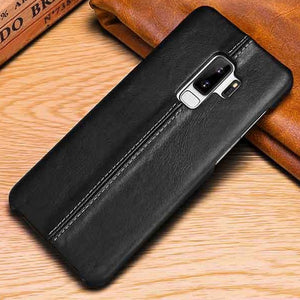 Genuine Stitched Designer Leather Case for Samsung Galaxy Phones