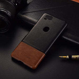 Genuine Stitched Leather Case for Google Pixel 2 or Google PIxel 2 XL