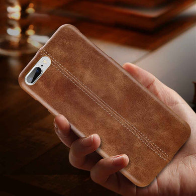 Genuine Stitched Designer Leather Case for iPhones