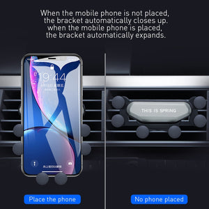 Ventz - Universal Gravity Car Phone Holder