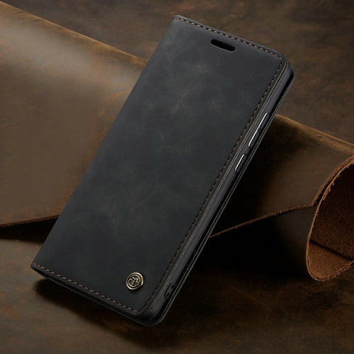 Leather Flip Stand Case for Huawei Phones
