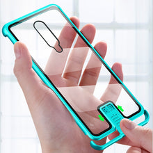 Slide-In Metal Tempered Glass Cover for Oneplus Phones