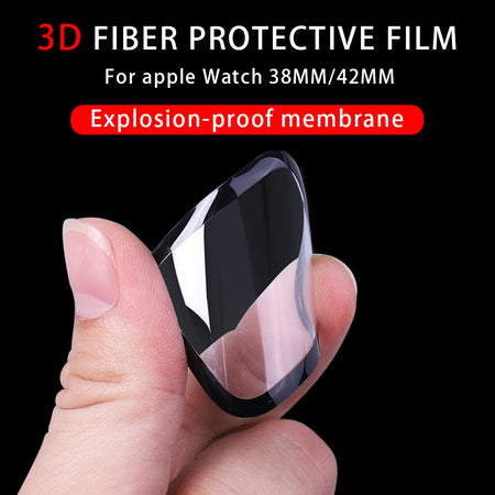 3D Fiber Protective Film for Apple Watch (Series 1 to 5, 38-44 mm)